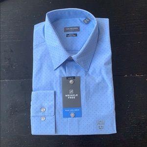 VAN HEUSEN Men Button Down Shirt Slim Fit